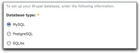 Drupal 7 DB options