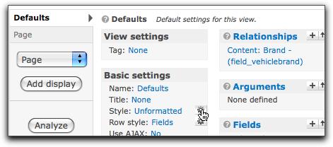 style settings icon
