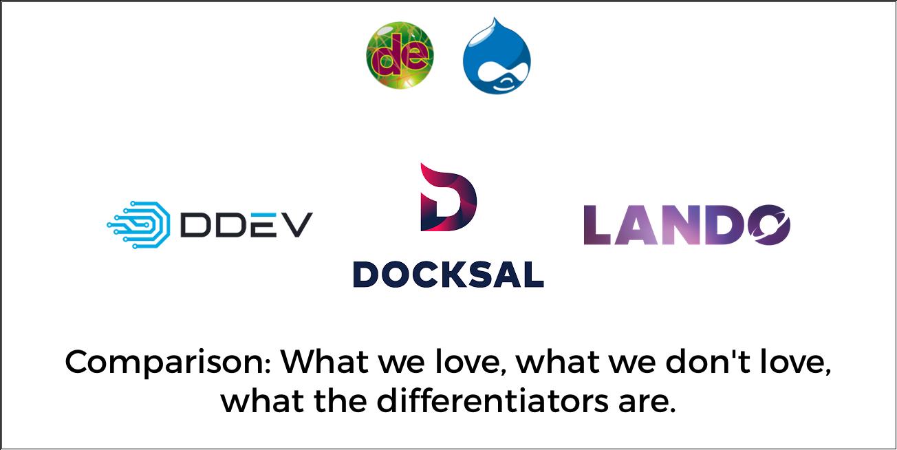 DDEV, Docksal, and Lando: A Comparison | DrupalEasy