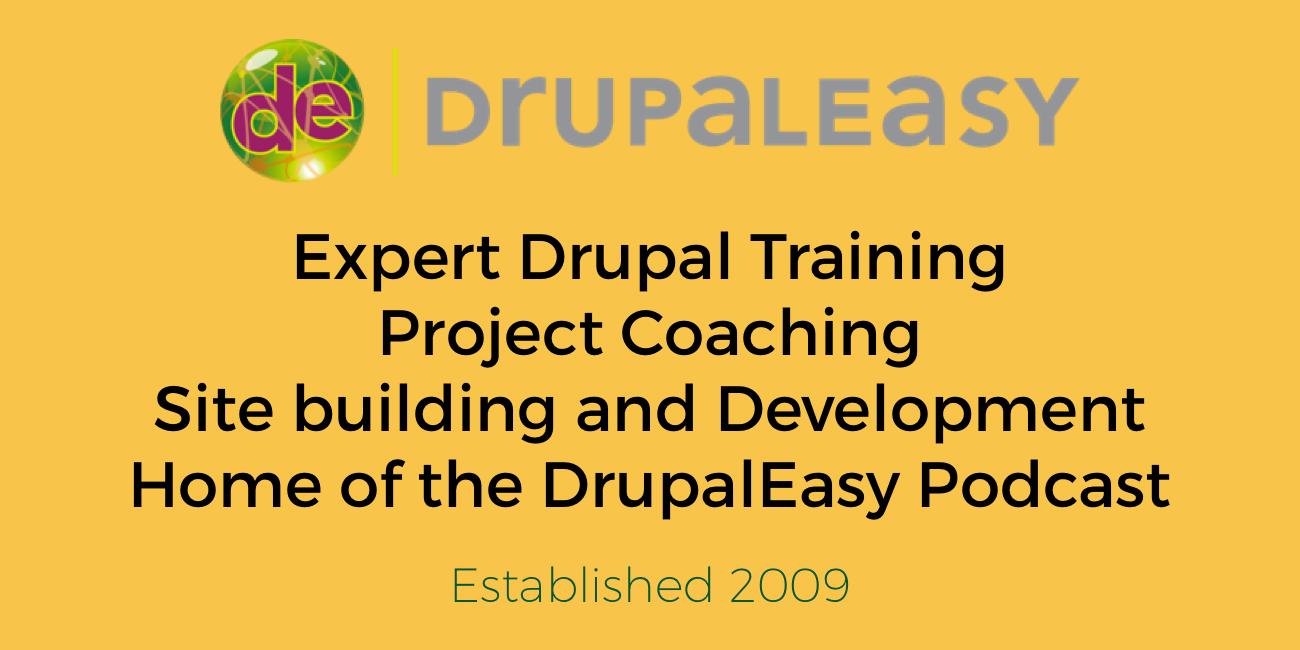 Workshops | DrupalEasy