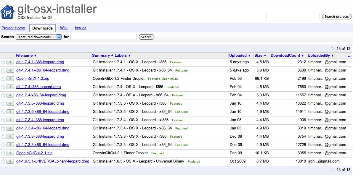 Which Git installer?