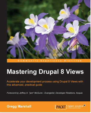 Mastering Drupal 8 Views book cover