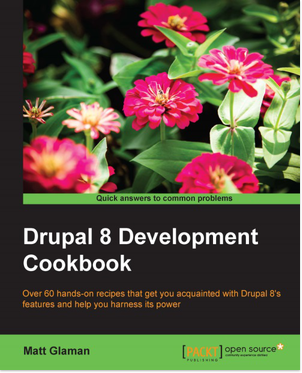 Drupal 8 Development Cookbook cover image