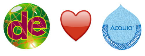 DrupalEasy hearts AcquiaU