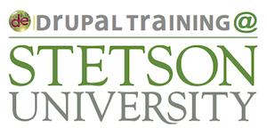 Drupal at Stetson logo