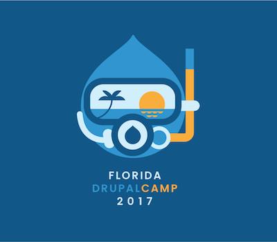 Florida DrupalCamp 2017 logo