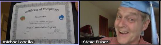 DCO2014 Graduate Steve Fisher